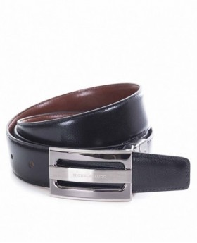 Cinturón de piel Miguel Bellido reversible - 100cm | Maletia.com