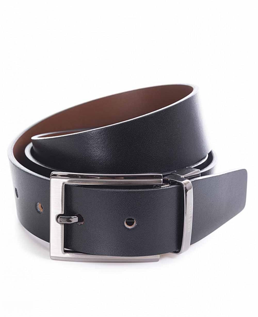 Miguel Bellido Cinturón clásico reversible Piel Negro/Marrón 95 (Foto )