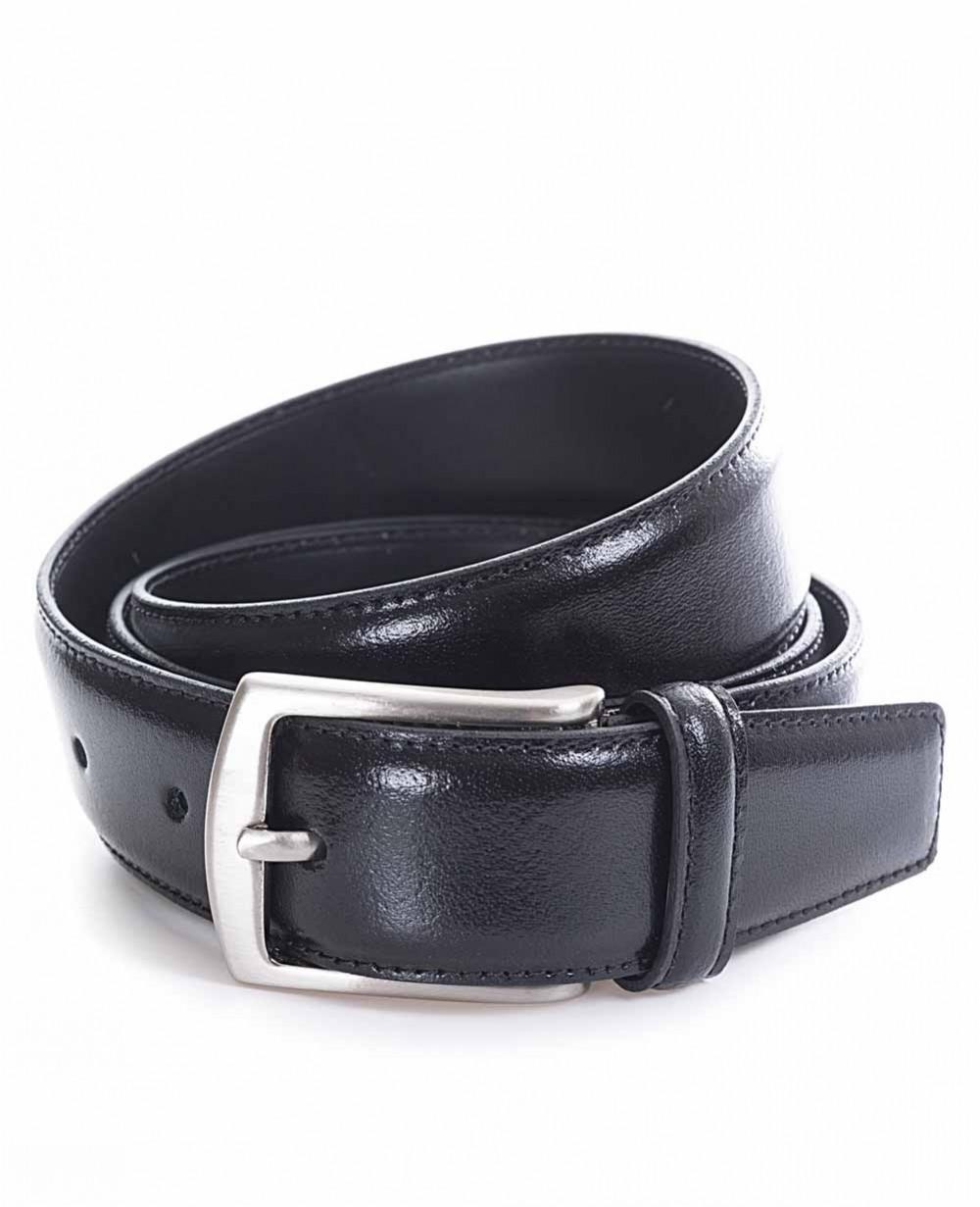 Miguel Bellido Cinturón clásico Piel Negro 100 (Foto )
