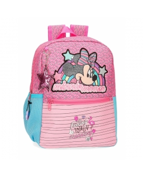 Minnie Mouse Mochila Minnie Pink Vibes  Rosa - 1
