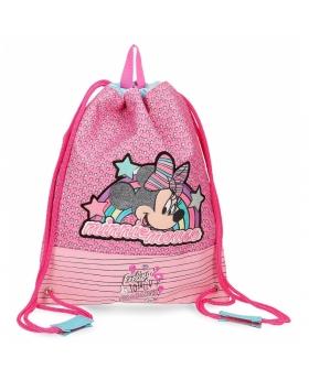 Minnie Mouse Bolsa de merienda Minnie Pink Vibes Rosa - 1