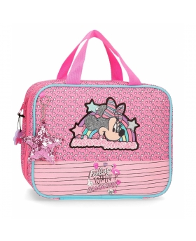 Minnie Mouse Neceser Minnie Pink Vibes adaptable a trolley Rosa - 1