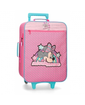 Minnie Mouse Maleta de cabina Minnie Pink Vibes  Rosa - 1