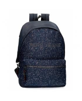 Pepe Jeans Mochila  Hike para portátil adaptable azul Azul - 1