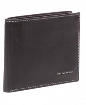 Billetero Titto Bluni Elegant Americano Negro - 11cm | Maletia.com