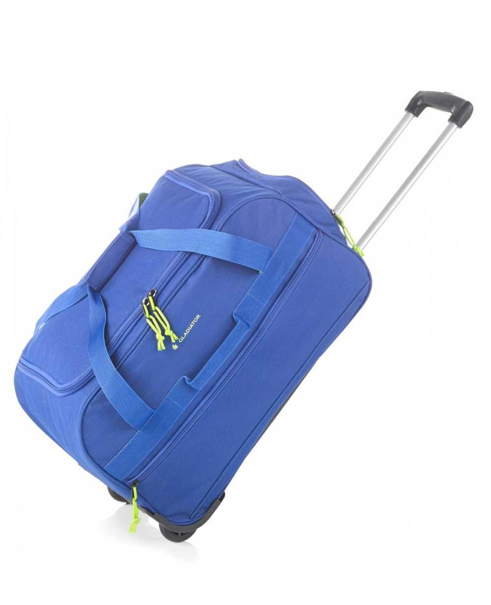 Gladiator Expedition M Bolsa de Viaje con Ruedas Azul (Foto )