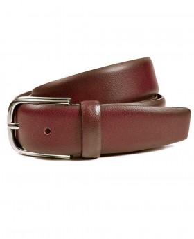 Cinturón de piel Miguel Bellido Clásico Cuero - 105cm | Maletia.com