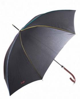 Paraguas Pierre Cardin Largo automático Negro - 91cm | Maletia.com