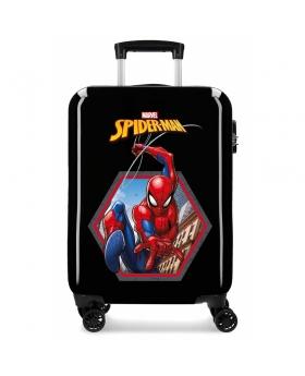 Spider-Man Maleta de Cabina Spiderman Geo rígida  Negra Negro - 1