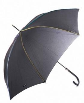 Paraguas Pierre Cardin Largo Negro - 91cm | Maletia.com