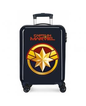 Marvel Maleta de Cabina Capitan  rígida  Azul - 1