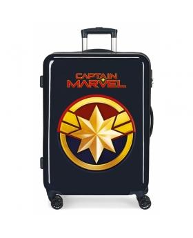 Marvel Maleta Mediana Capitan  rígida  Azul - 1