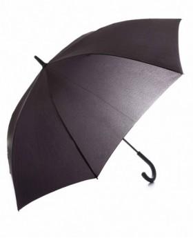 Pierre Cardin Paraguas largo automático Negro 0