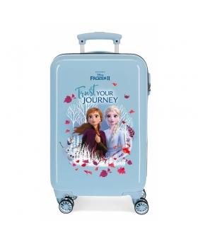 Frozen Maleta de cabina  Trust your journey rígida  Azul - 1