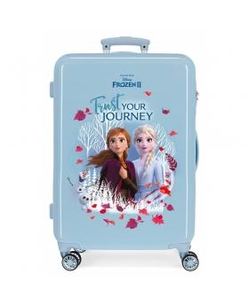 Frozen Maleta Mediana  Trust your journey rígida  Azul - 1