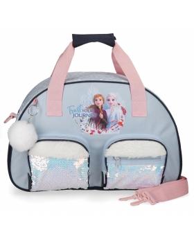 Frozen Bolsa de viaje   Trust your journey Azul - 1