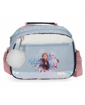 Frozen Neceser  Trust your journey adaptable a trolley con bandolera Azul - 1