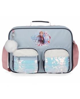 Frozen Cartera Escolar  Trust your journey Azul - 1