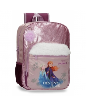 Frozen Mochila  Destiny Awaits escolar 38cm Morado - 1