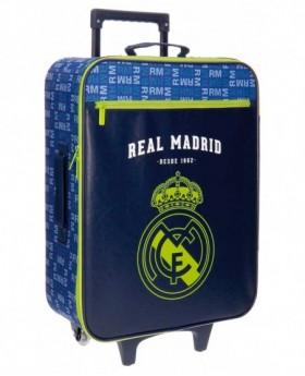 Real Madrid Basic Maleta de mano Azul 0