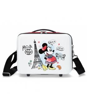 Minnie Mouse Neceser ABS Minnie Paris Adaptable  Rojo - 1