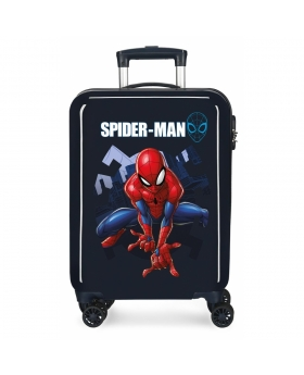 Spider-Man Maleta de Cabina Spiderman Action rígida   Azul - 1