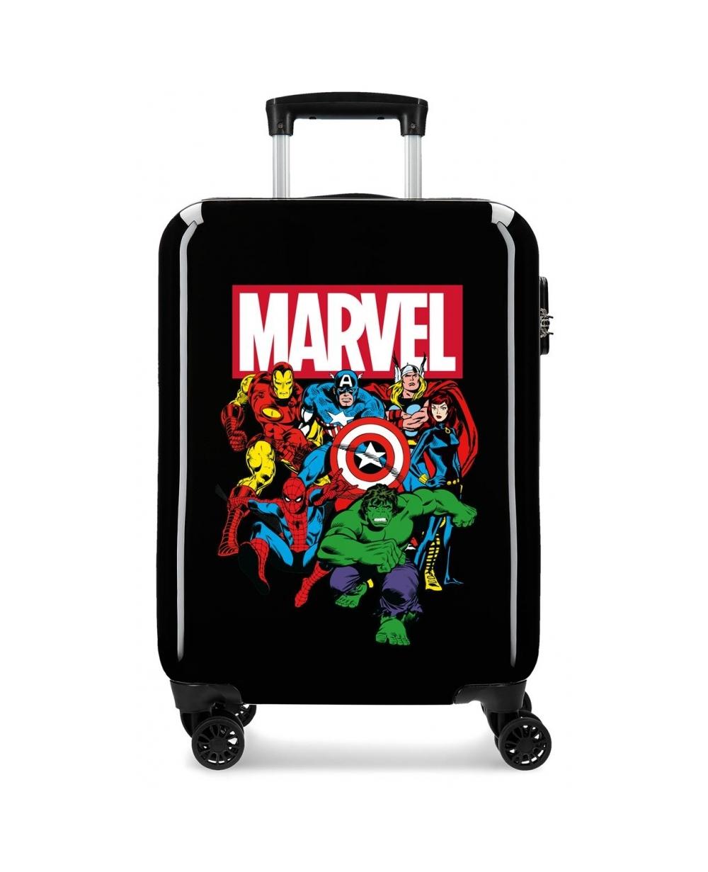 Marvel Maleta de Cabina Sky Avengers rígida  Negra Negro (Foto )