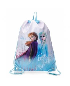 Frozen Mochila saco  True to Myself Azul - 1