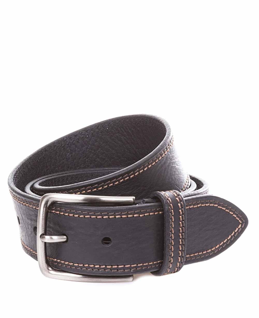 Miguel Bellido Cinturón Jeans Piel Negro 110 (Foto )