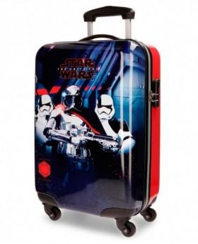 Maleta de mano Star Wars VIII Negra - 55cm | Maletia.com