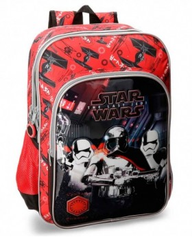Mochila adaptable Star Wars VIII Negra - 40cm | Maletia.com