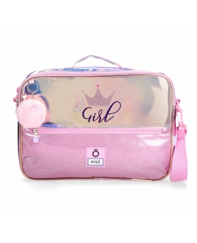 Enso Cartera Escolar  Super girl Rosa - 1