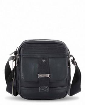 Bolso de hombre Ventis Negro - 20cm | Maletia.com