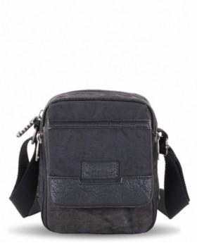 Bolso para hombre Ventis Negro - 20cm | Maletia.com
