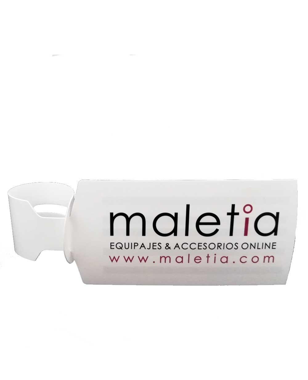 Portanombres Maletia Blanco (Foto )