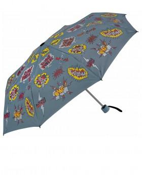 Paraguas Clima Kids plegable Azul - 54cm | Maletia.com