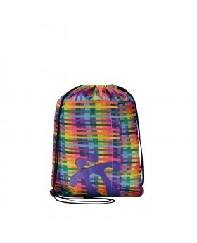 Totto Mochila deportiva cuerdas estampado chanely Multicolor - 1