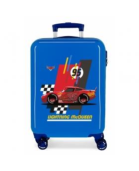 Cars Maleta de cabina rígida Lightning McQueen  Azul - 1