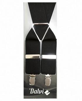 Tirantes de hombre Dalvi Lisos en Marrón - 110cm | Maletia.com