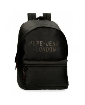 Pepe Jeans Mochila para portátil  Bromley Negra  Negro - 1