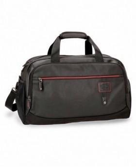 Bolsa de Viaje Pepe Jeans Baker Negra - 50cm | Maletia.com