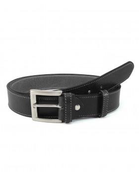 Cinturón de piel Wildzone sport Negro - 100cm | Maletia.com