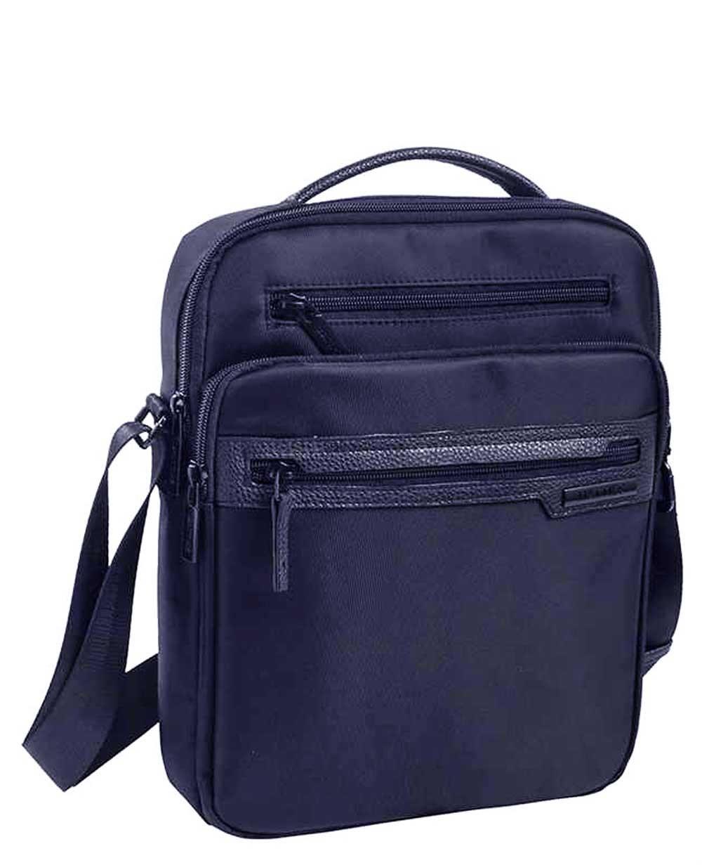 "Matties Bags 10.2"" Bandolera Lona Azul (Foto )"