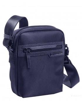 Bolso de hombre Matties Lona Azul - 19cm | Maletia.com