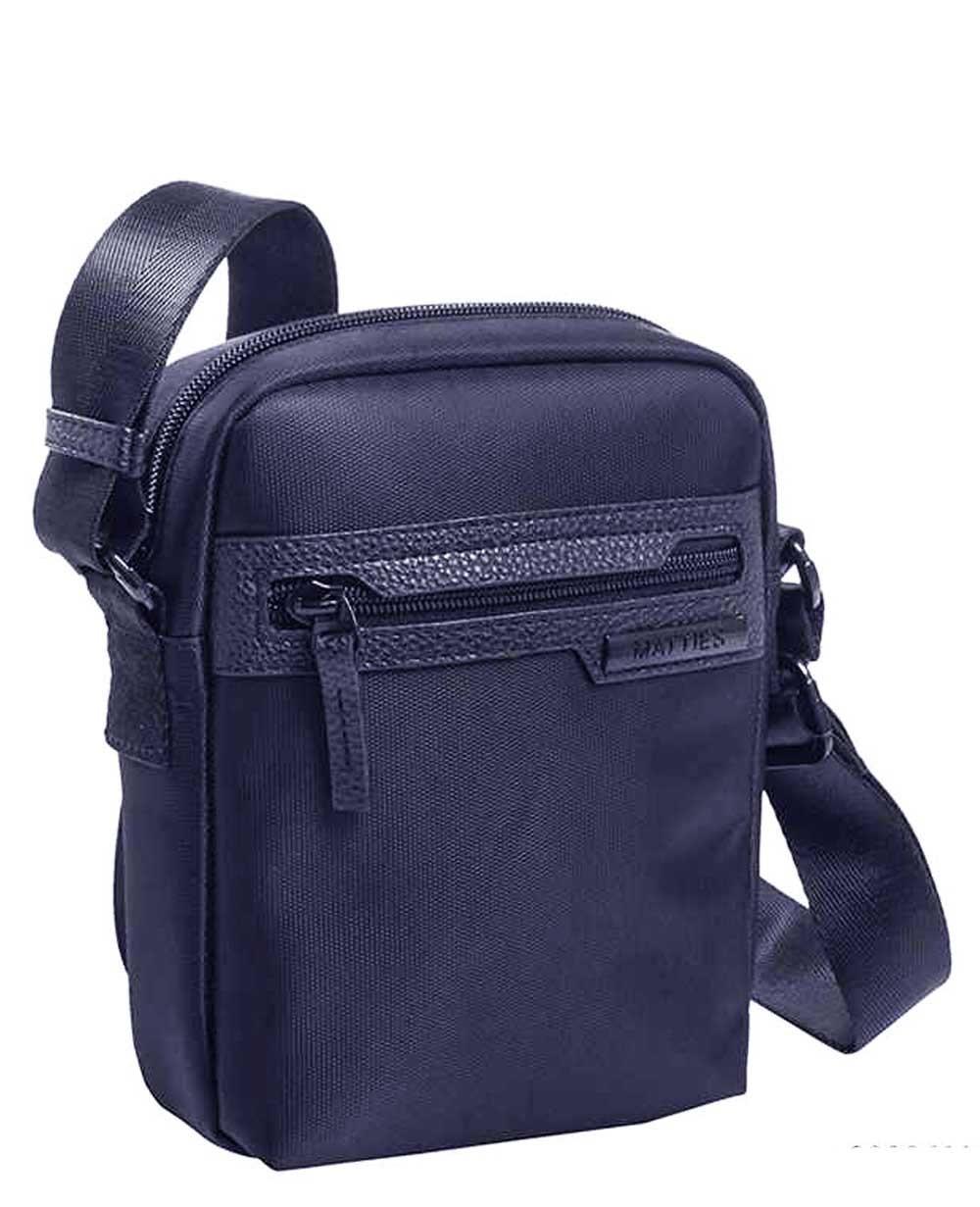 Matties Bags Bandolera Lona Azul (Foto )