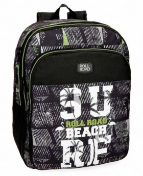 Roll Road Surf Mochila adaptable Negra 0