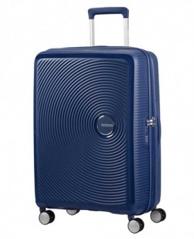 American Tourister Soundbox Maleta mediana Azul 0