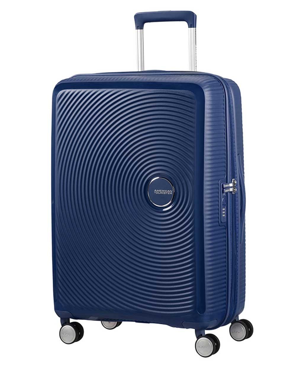 American Tourister Soundbox Maleta mediana Azul (Foto )