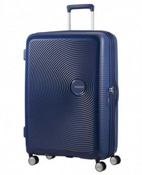 American Tourister Soundbox Maleta grande Azul 0