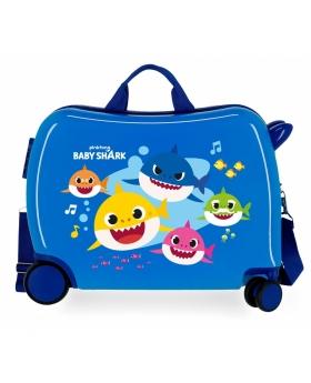 Baby Shark Maleta Infantil  My Ocean Sharks Azul - 1